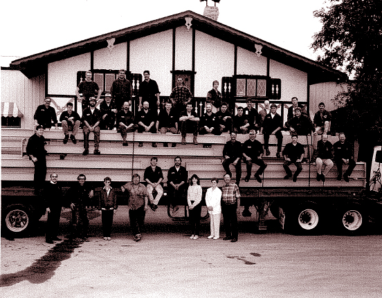 Endres Mfg. Employees with Truck